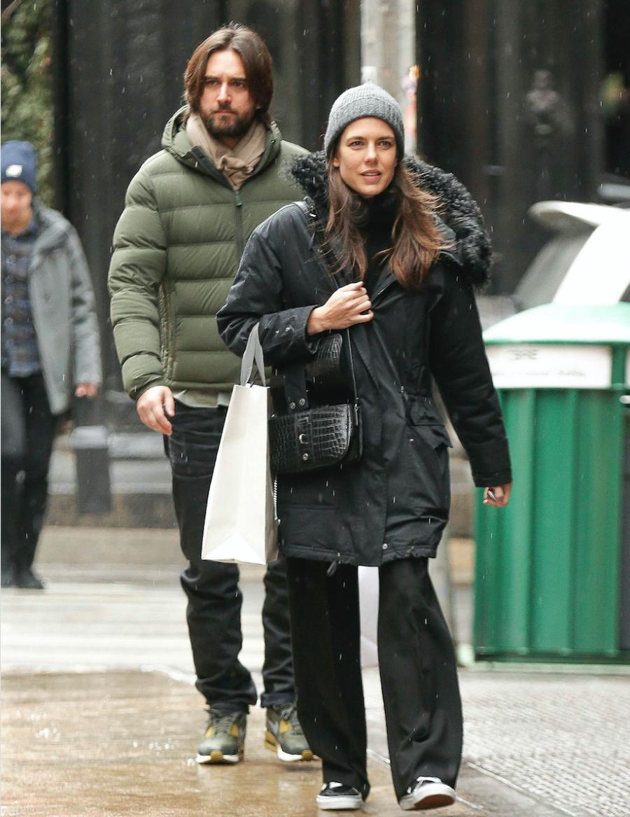 EXCLUSIVA Carlota Casiraghi y Dimitri Rassam de compras en Nueva York