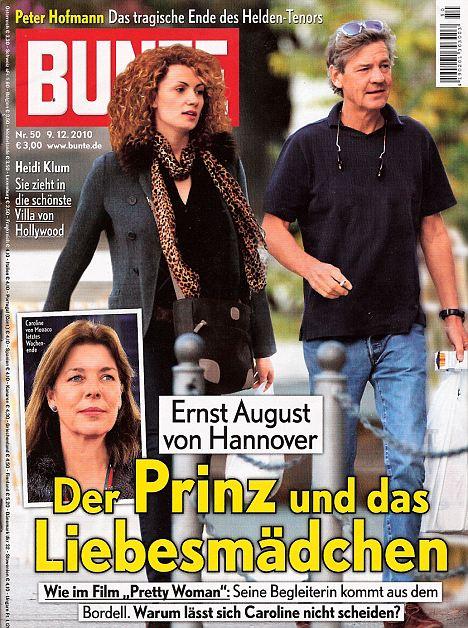 Ernst de Hannover Jr. ya es papá mientras su padre, Ernst de Hannover (grande) cumple 64 años