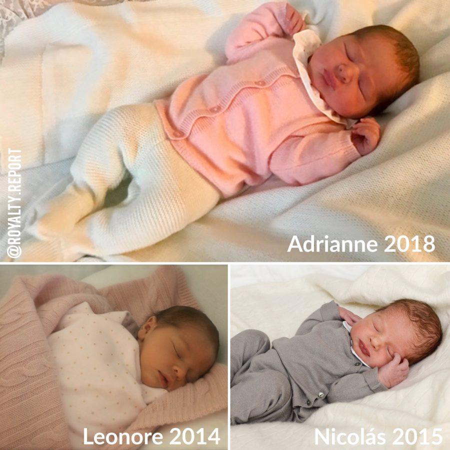 Nació Adrianne de Suecia y se acabó la polémica por su llegada