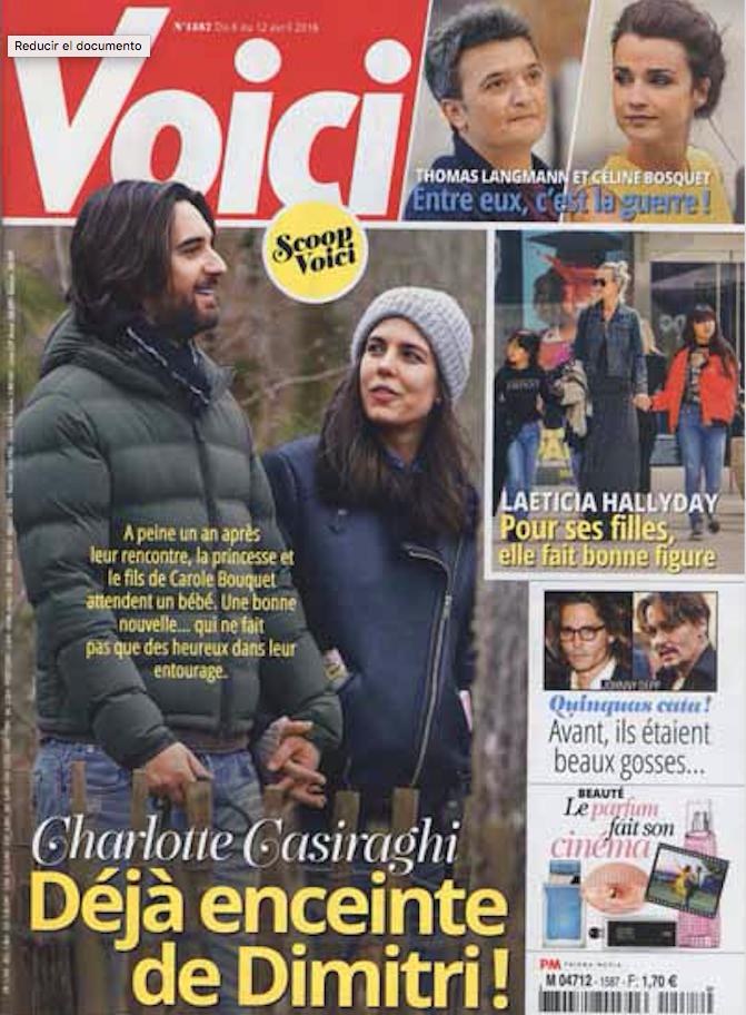 Carlota Casiraghi y las fotos que podrían confirmar su embarazo.