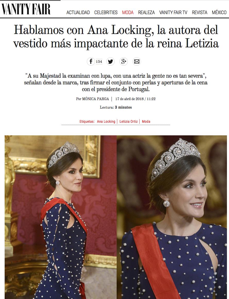 """Felipe VI """"corona"""" de nuevo a su reina con la Tiara Cartier"""