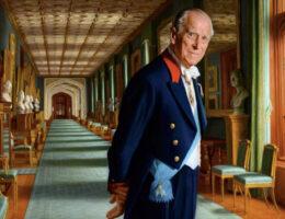 Felipe de Edimburgo, tío del príncipe Pablo de Grecia.
